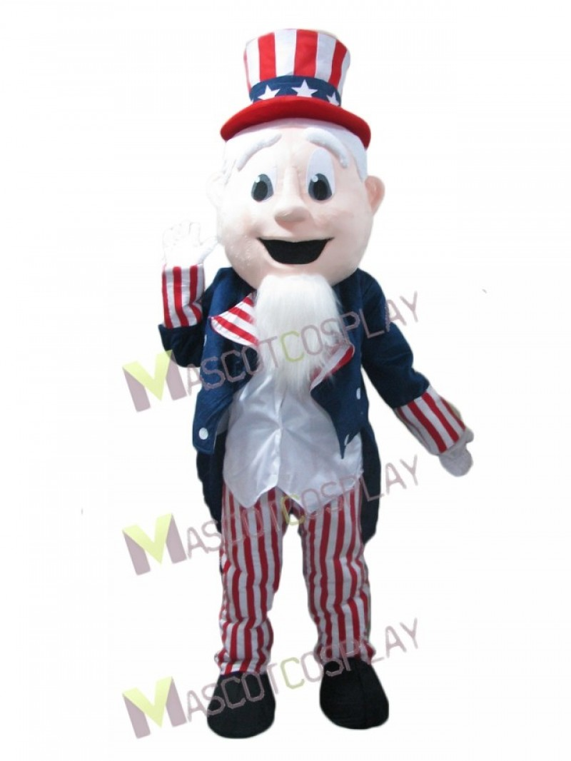 US Character Uncle Sam Mascot Costume