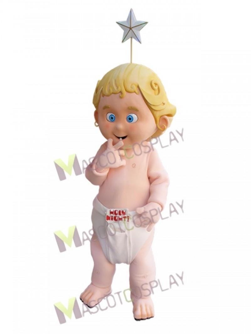 Lucky Baby Angel Holy Night Mascot Costume