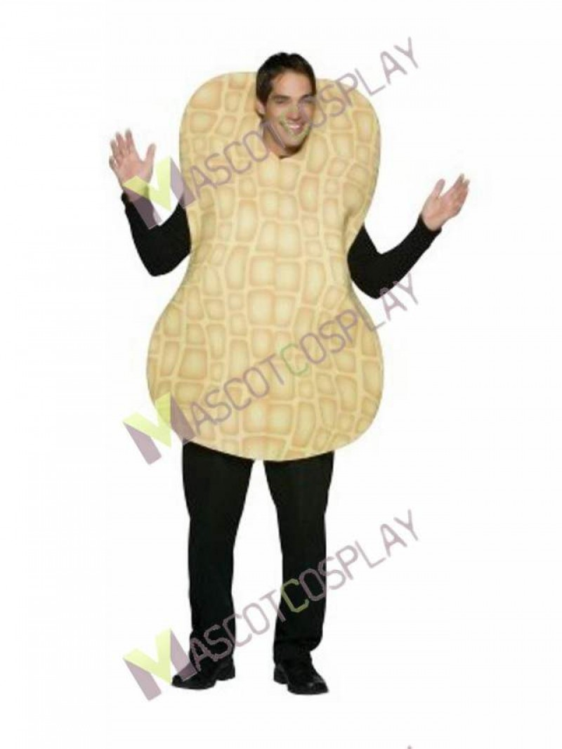High Quality Adult Peanut Mascot Costume
