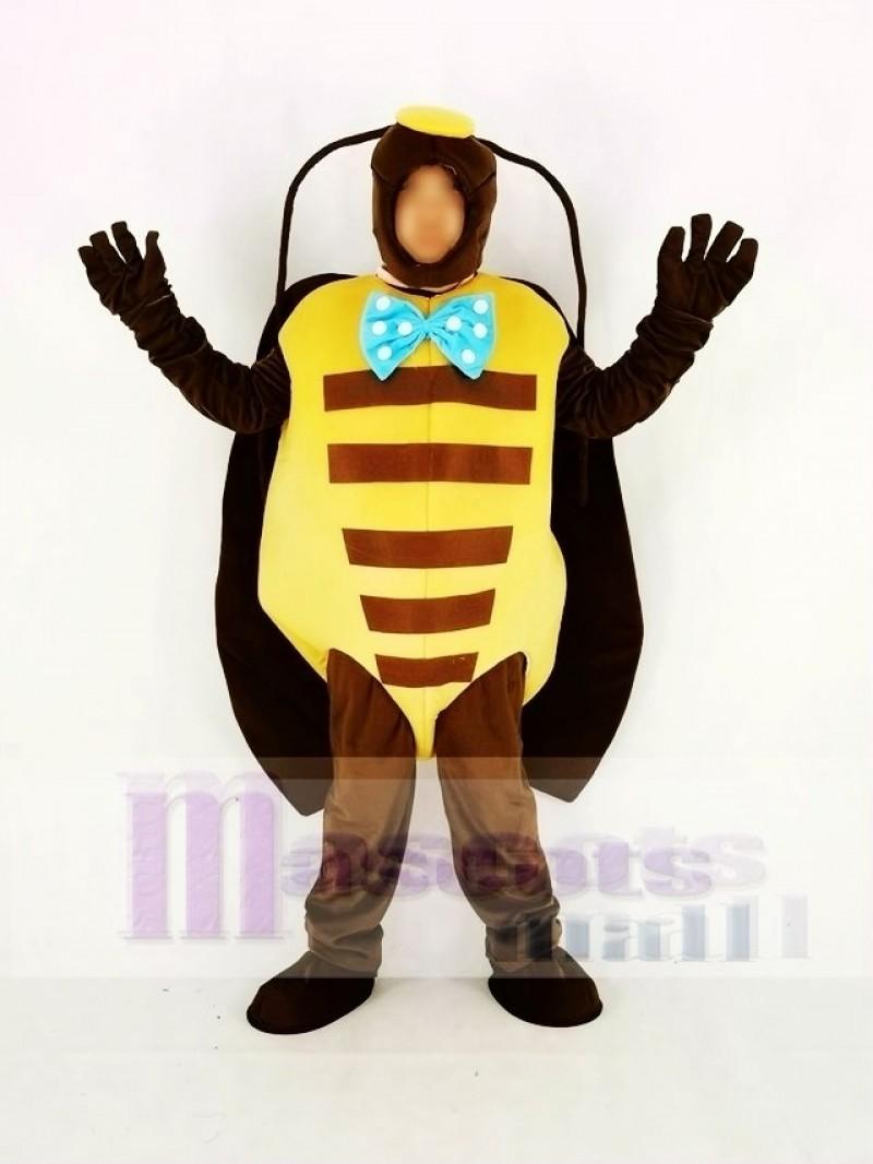 Black Beetle Mascot Costume Animal