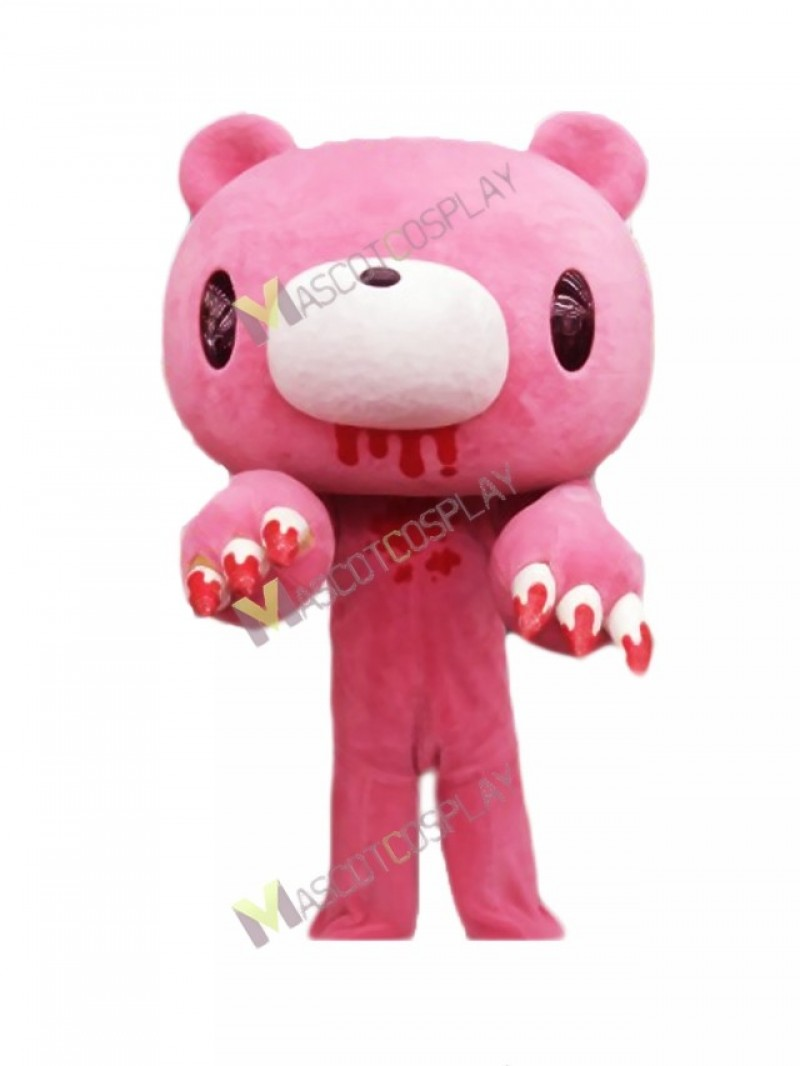 High Quality Adult Pink Gloomy Bear Japanese Cartoon Mascot Costume