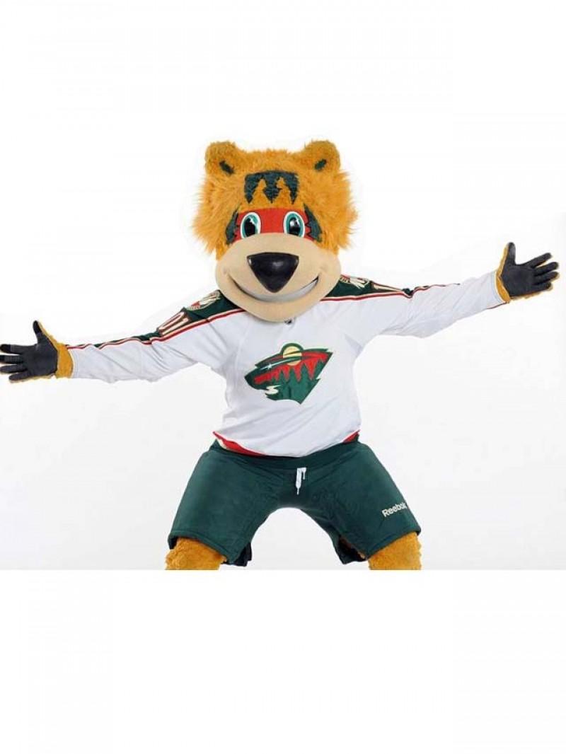 Nordy of Minnesota Wild Mascot Costume