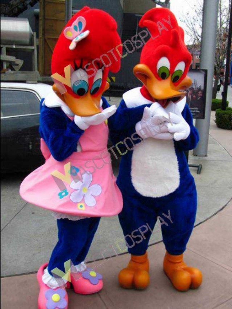 High Quality Adult Woody Woodpecker ONLY ONE Mascot Costume