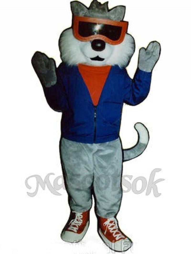 Cute Alley Cat Mascot Costume