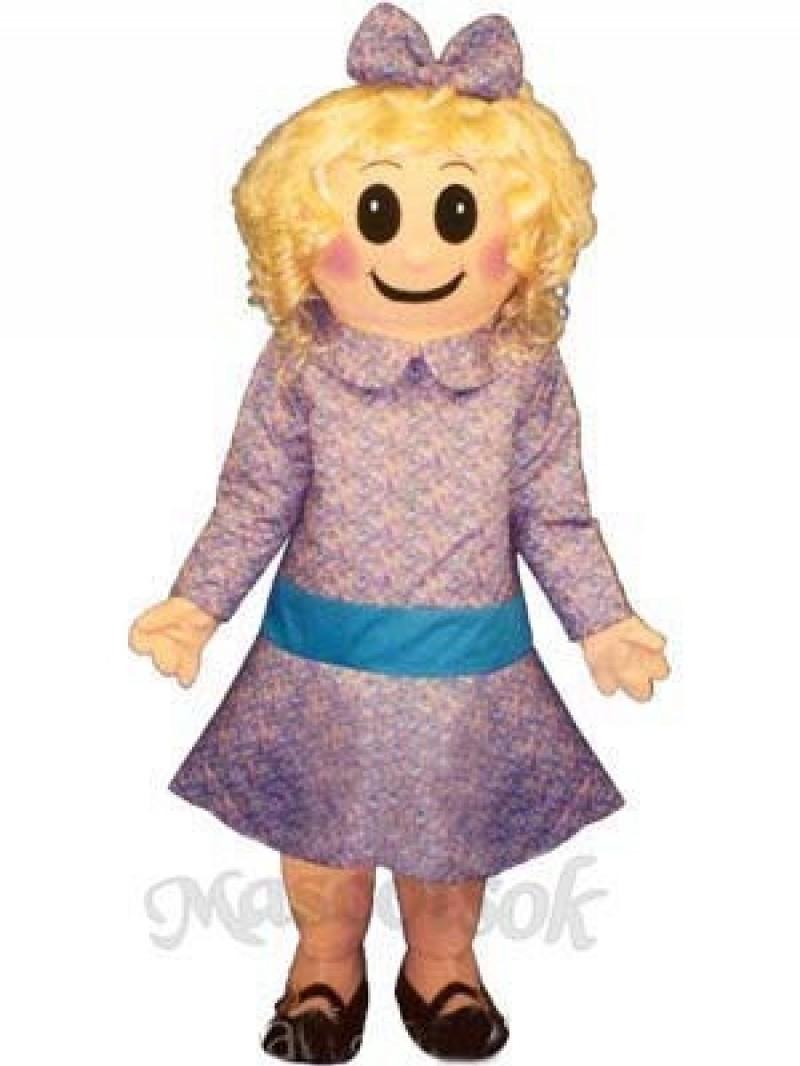 Satin Doll Mascot Costume