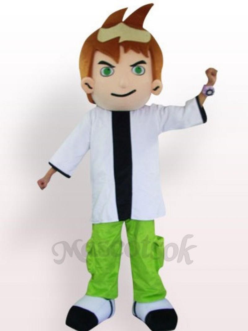 Cool Boy Plush Adult Mascot Costume