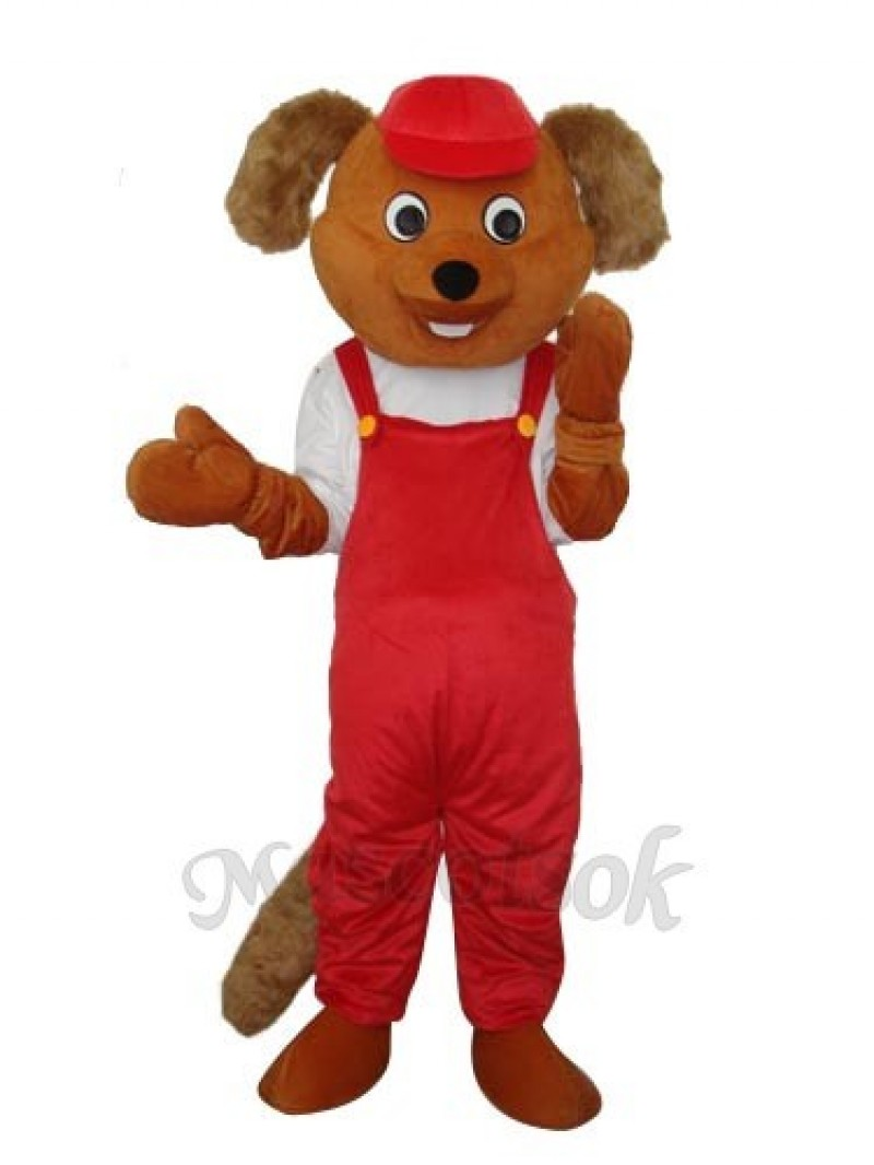 Bear Beaver Rat Mascot Adult Costume