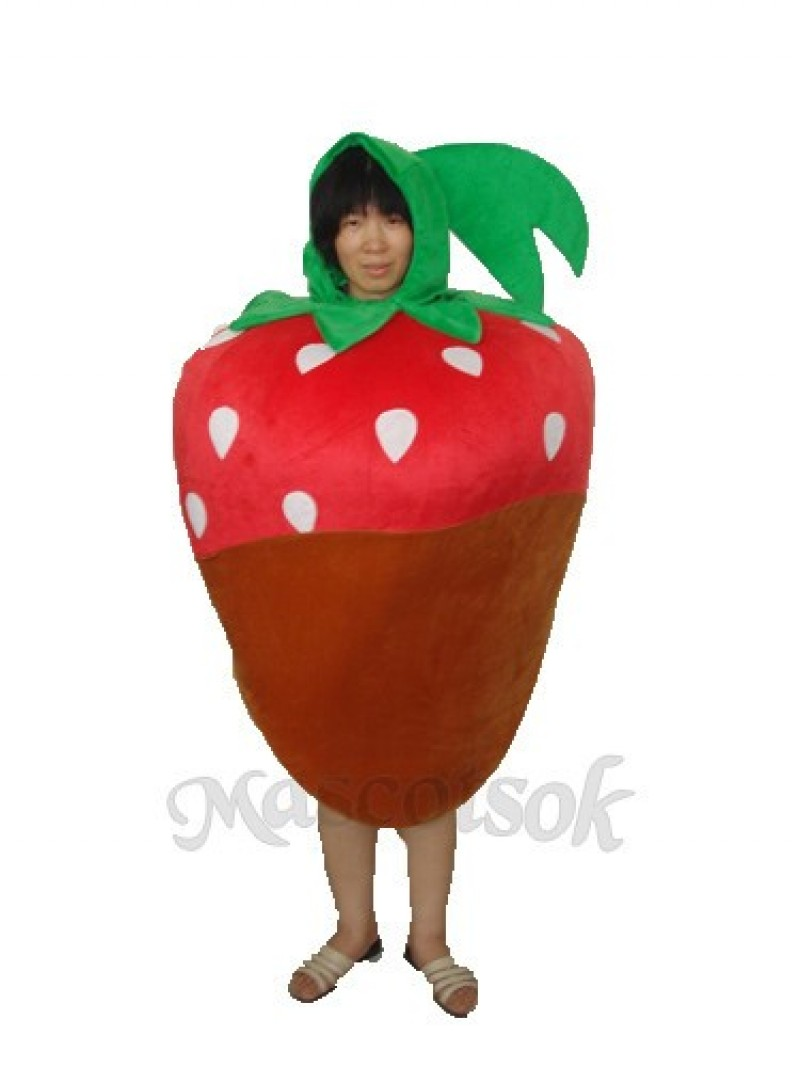 Odd Strawberry Mascot Adult Costume