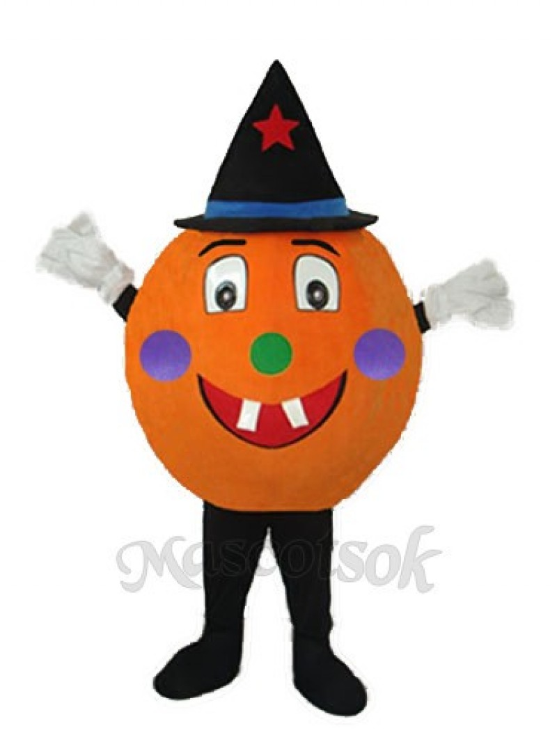 Pumpkin Mascot Adult Costume