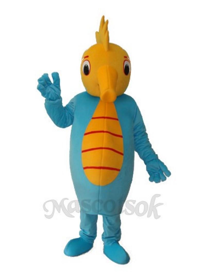 Hippocampus Mascot Adult Costume