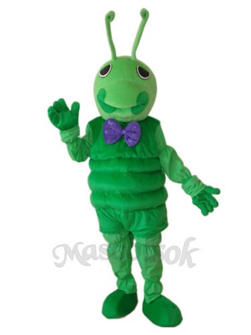 Worm Mascot Adult Costume