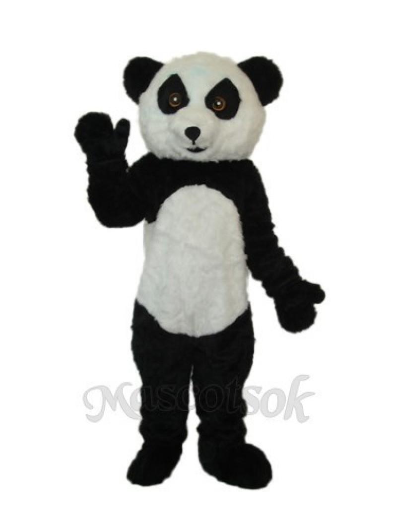 3rd Version Panda Plush Mascot Adult Costume