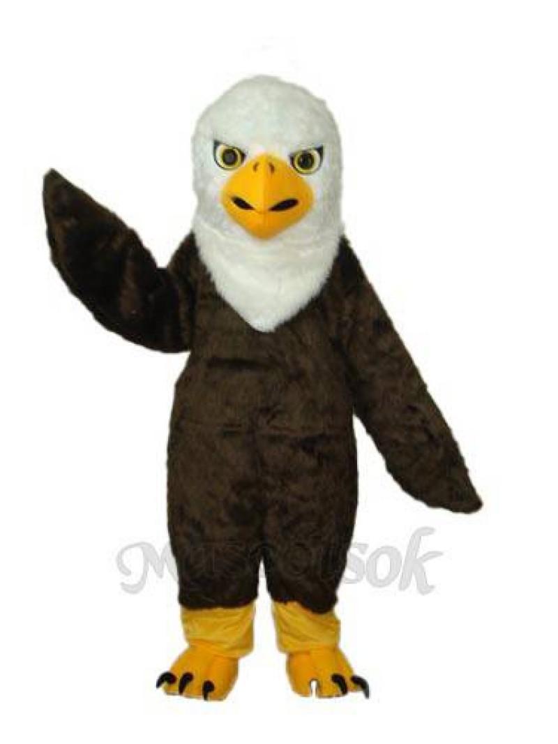 Long Wool Eagle Mascot Adult Costume