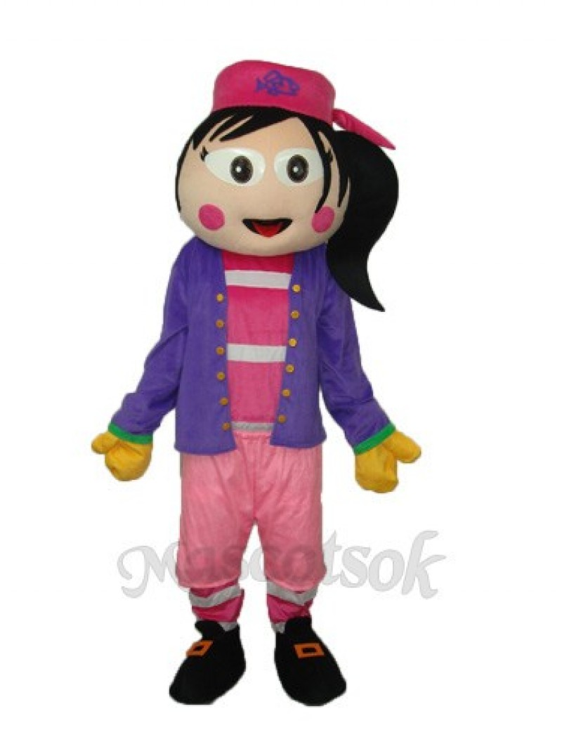 Female Pirates Mascot Adult Costume