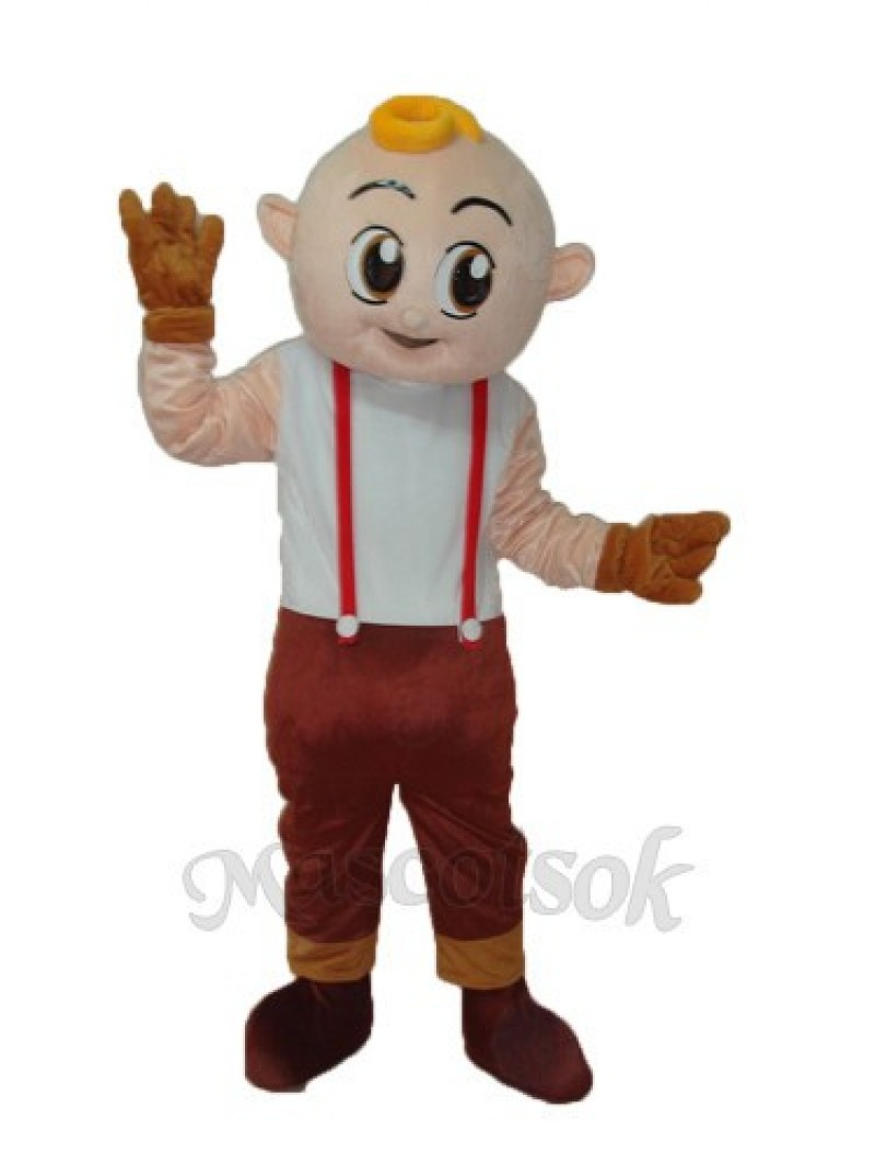 Boy Mascot Adult Costume