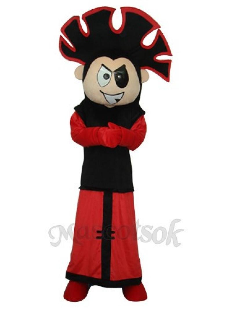 Fire Boy Mascot Adult Costume