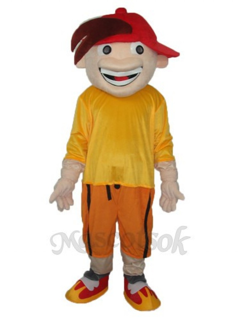 The Strange Boys Mascot Adult Costume