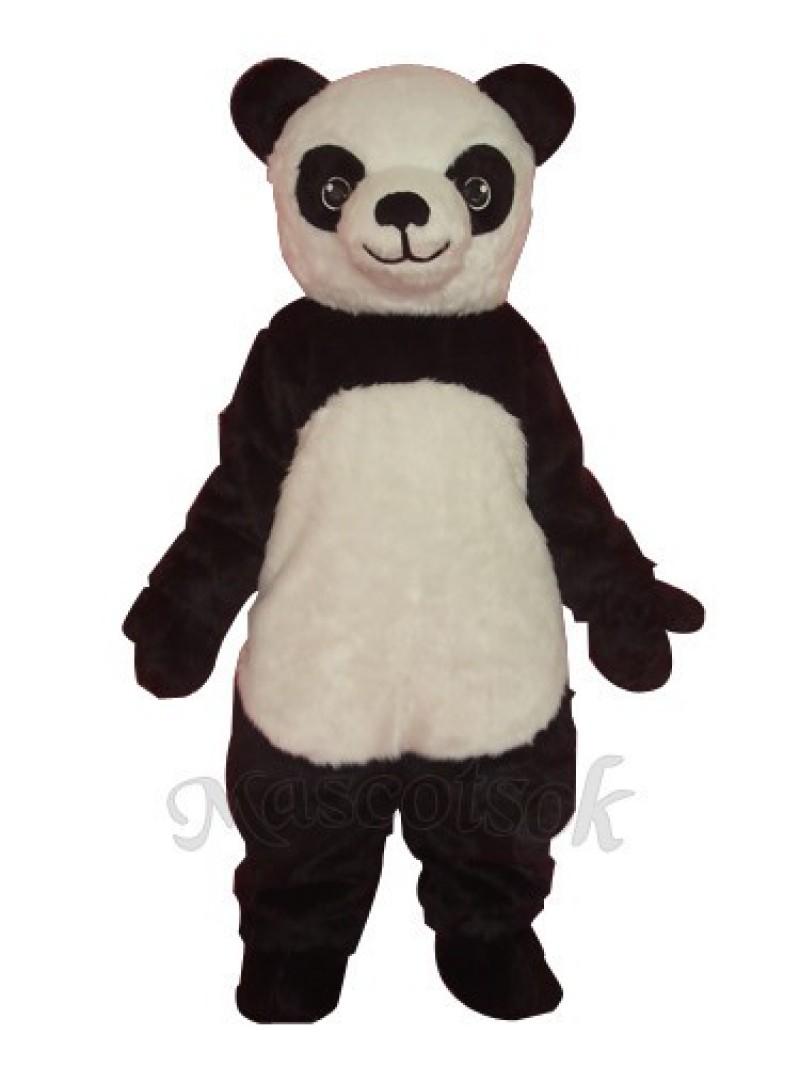 Super cute giant panda adult mascot costume