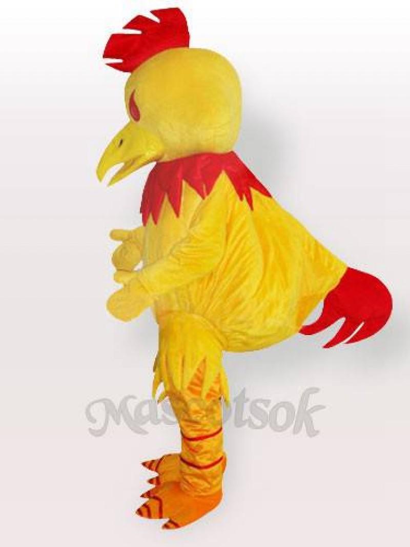 Big Yellow Chanticleer Chicken Adult Mascot Costume