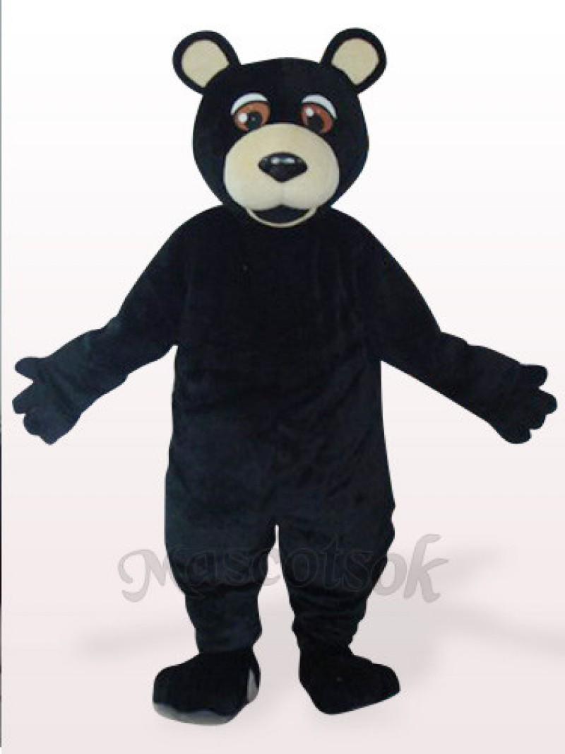 Black Bear Plush Mascot Costume
