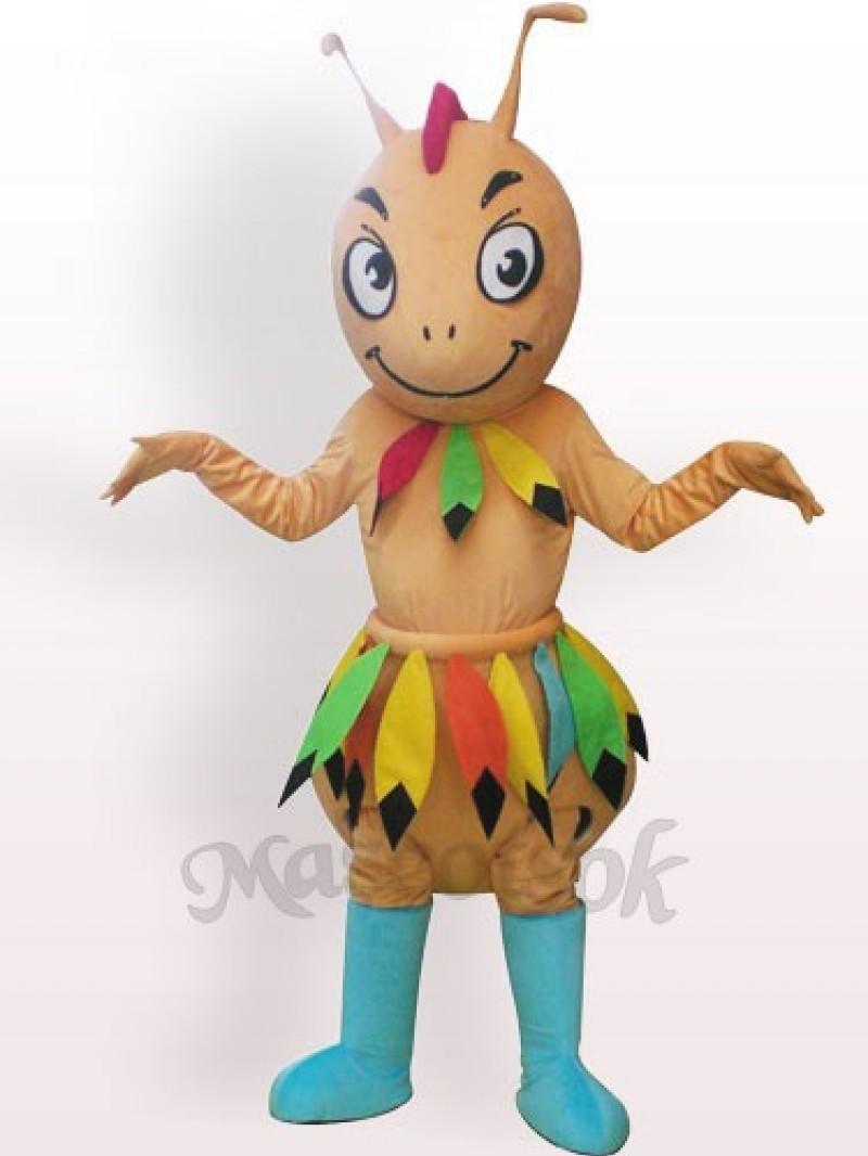 Cave-man Ant Plush Adult Mascot Costume