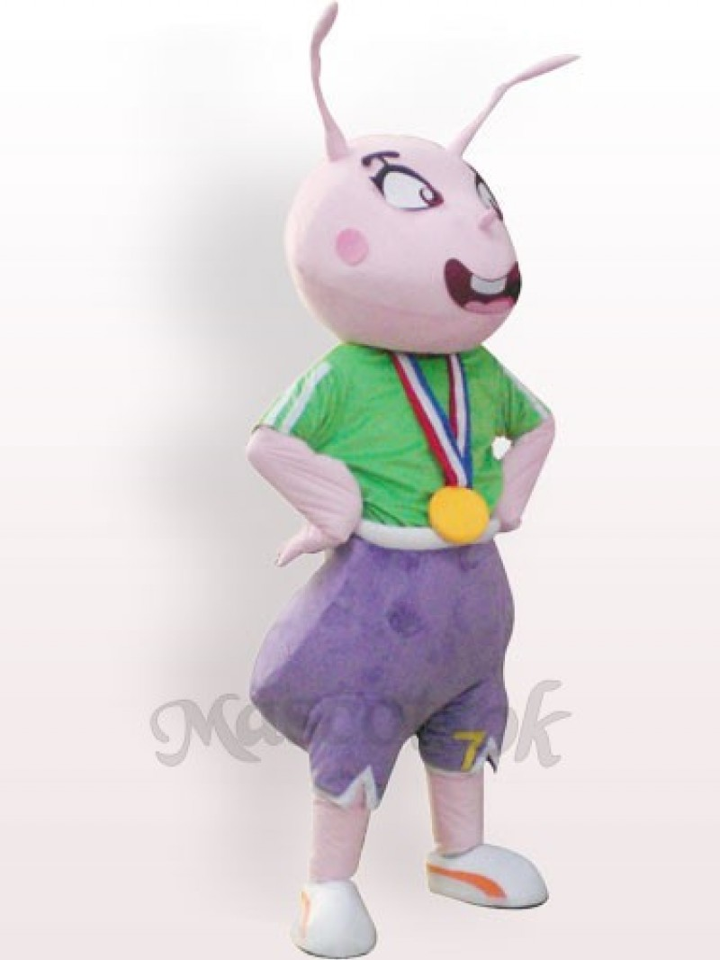 Champion Ant Plush Adult Mascot Costume