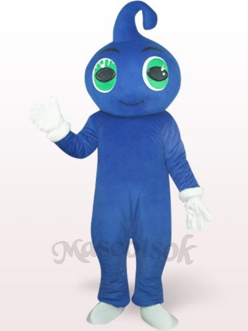 Cute Blue Baby Plush Mascot Costume