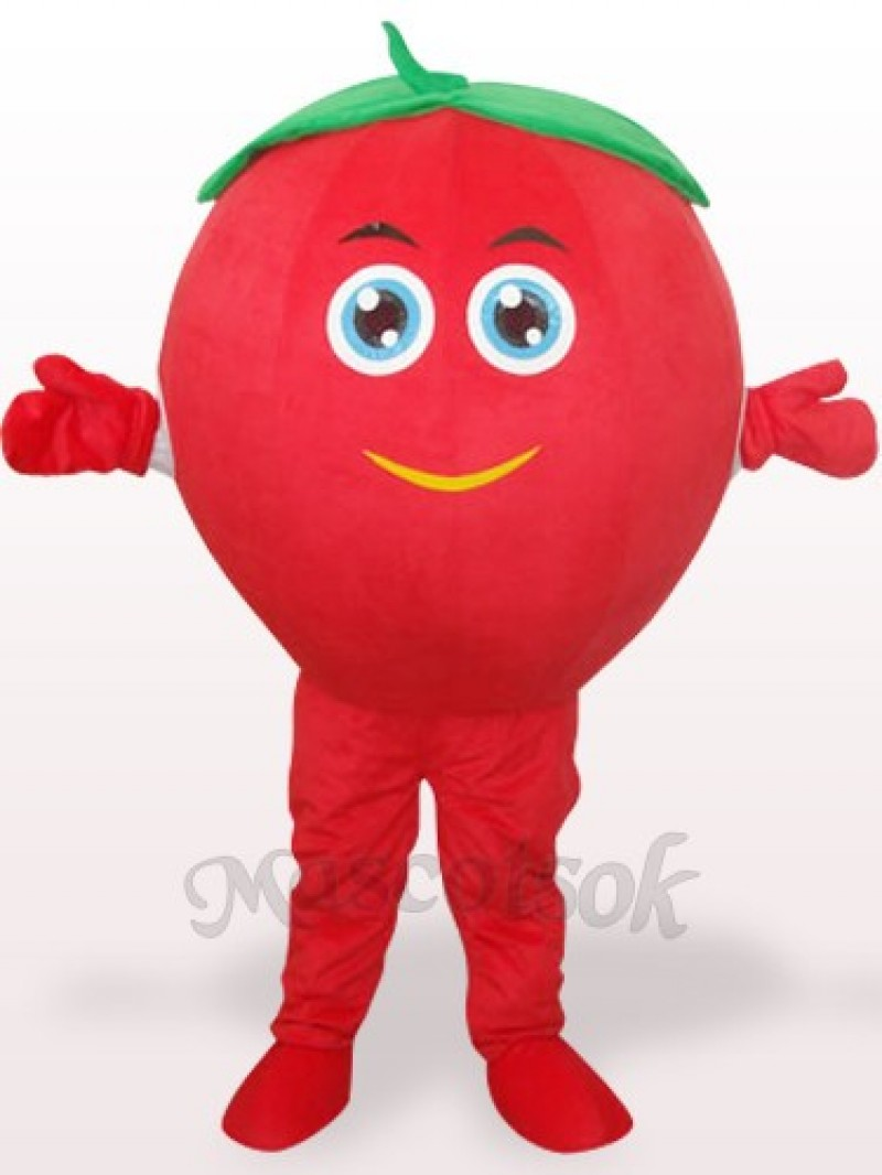 Cute Tomato Plush Adult Mascot Costume