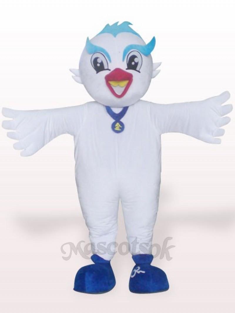 Dove Plush Adult Mascot Costume