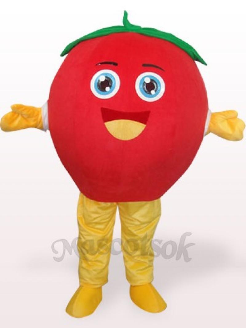 Happy Tomato Plush Adult Mascot Costume