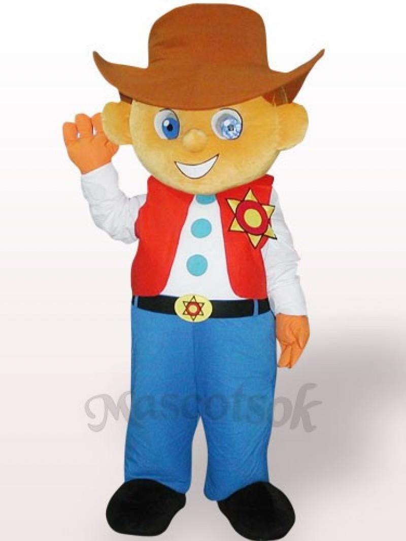 Knight Plush Adult Mascot Costume