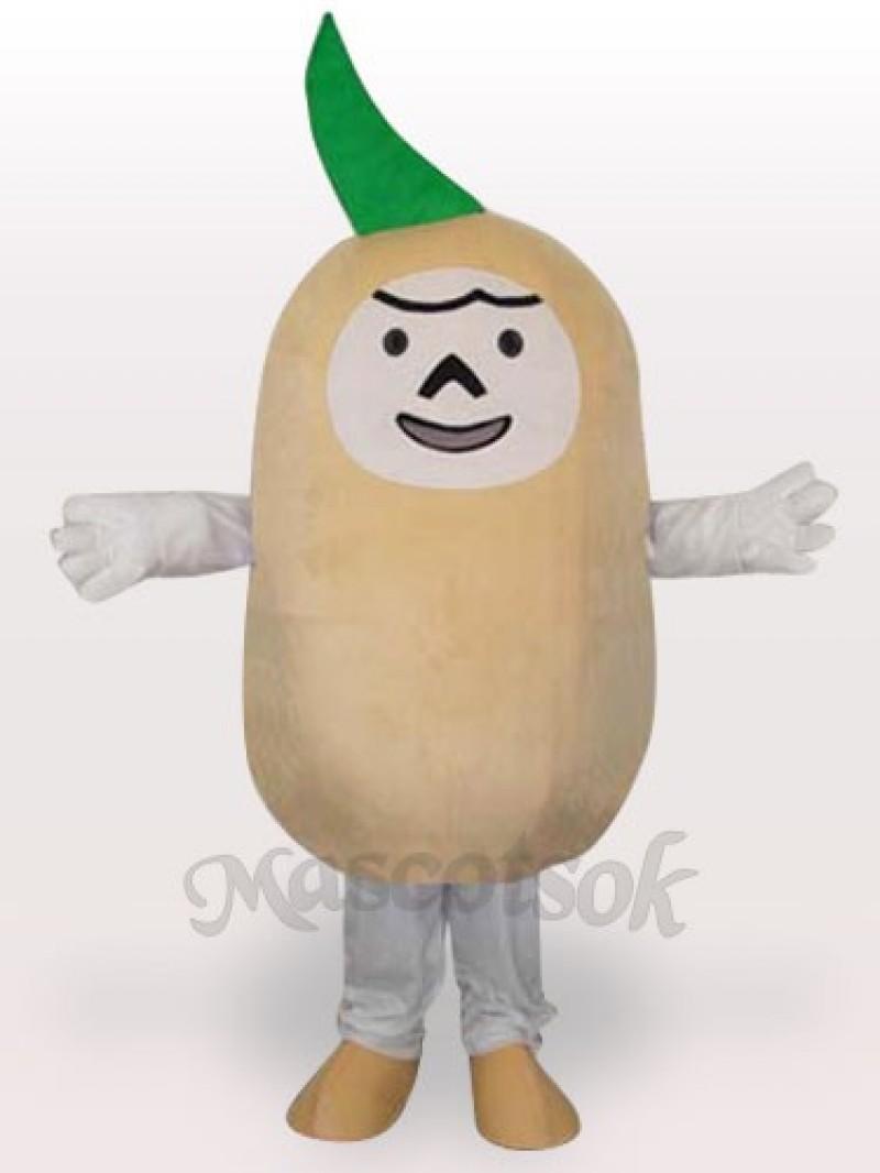 Potato Short Plush Adult Mascot Costume