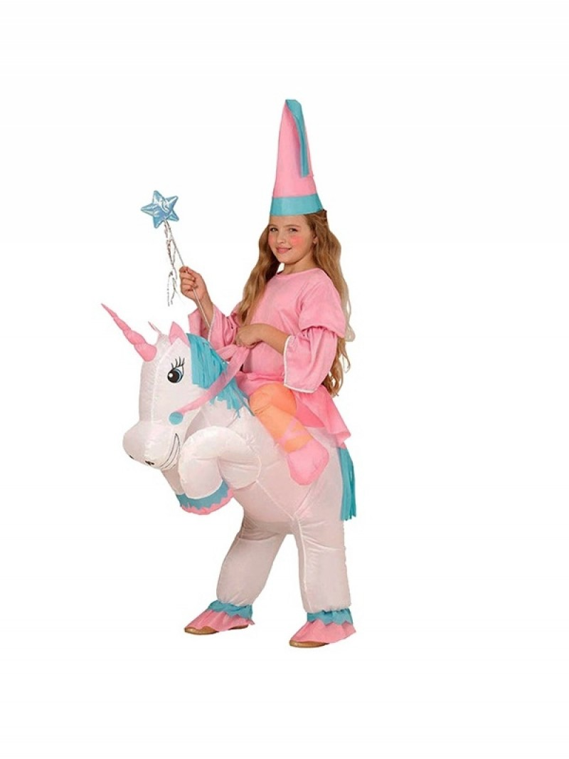 Kids Inflatable Unicorn Costume Halloween Children Cosplay Christmas