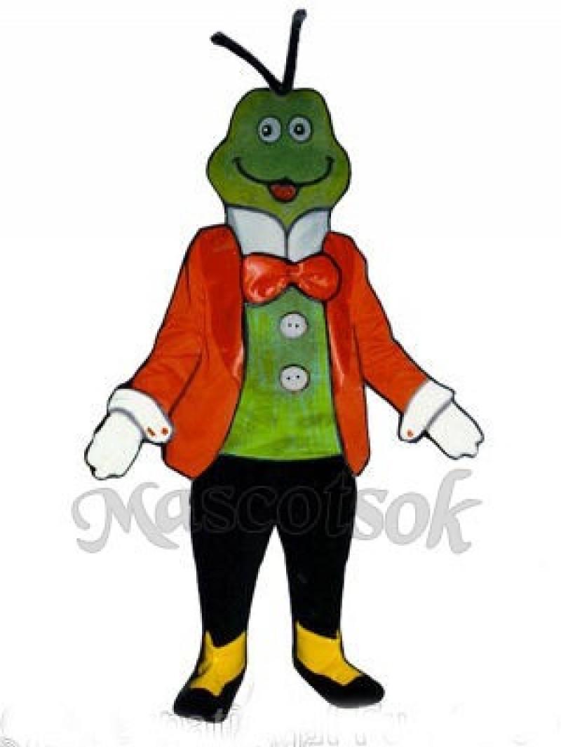 Christopher Cricket Mascot Costume