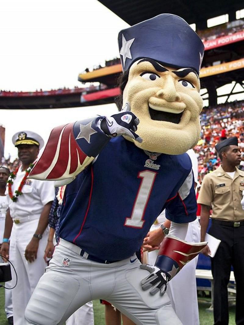 New England Patriots Mascot Adult Costume