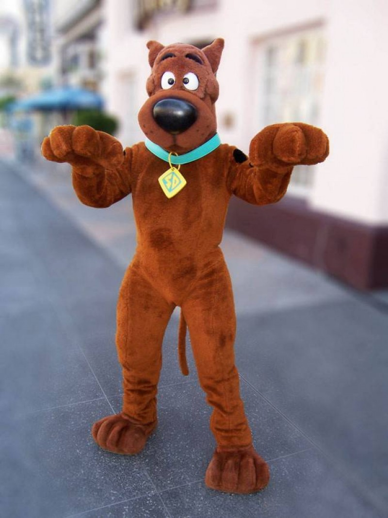 SCOOBY Dog Mascot Costumes
