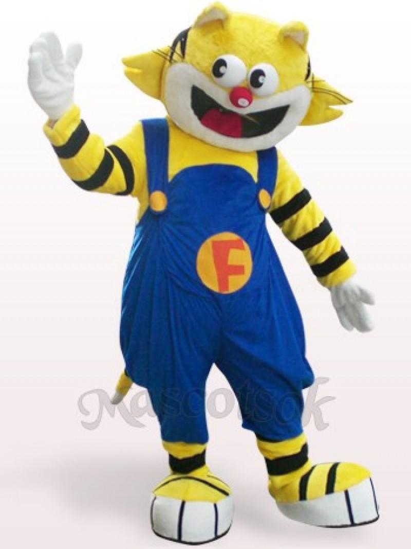 F-Cat Plush Adult Mascot Costume