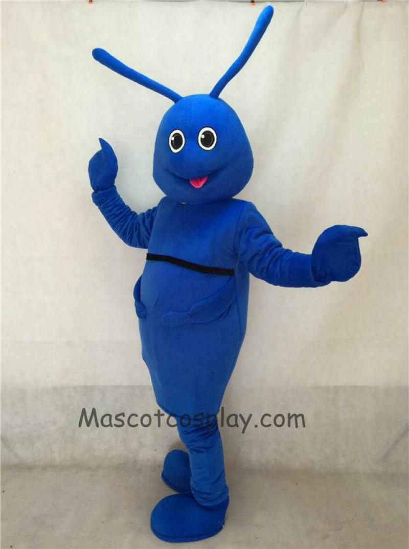 High Quality New Blue Bug Mascot Costume
