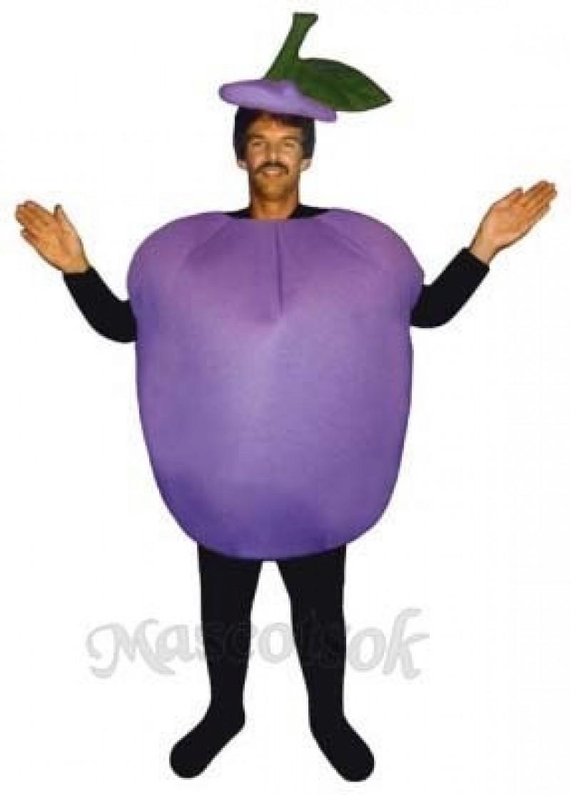 Plum Mascot Costume