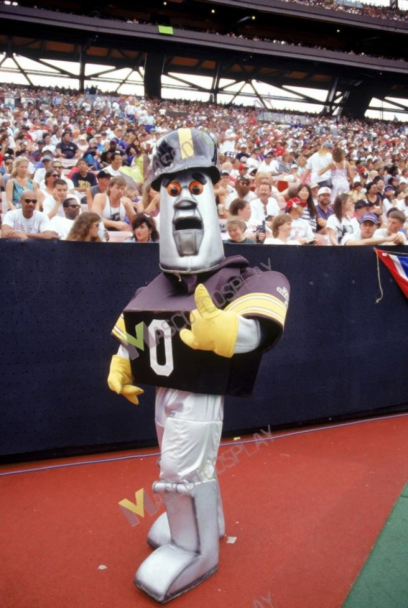 Pittsburgh Steelers Steely McBeam Mascot Costume