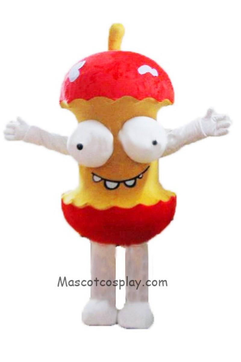 High Quality Rotten Apple Moth Mascot Costume
