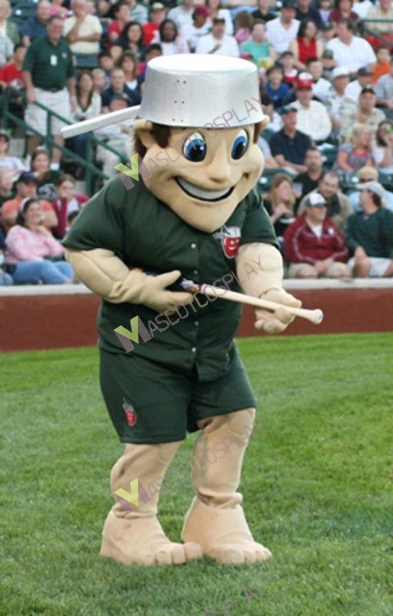 Johnny Apple Seed Fort Wayne Tin Caps Mascot Costume
