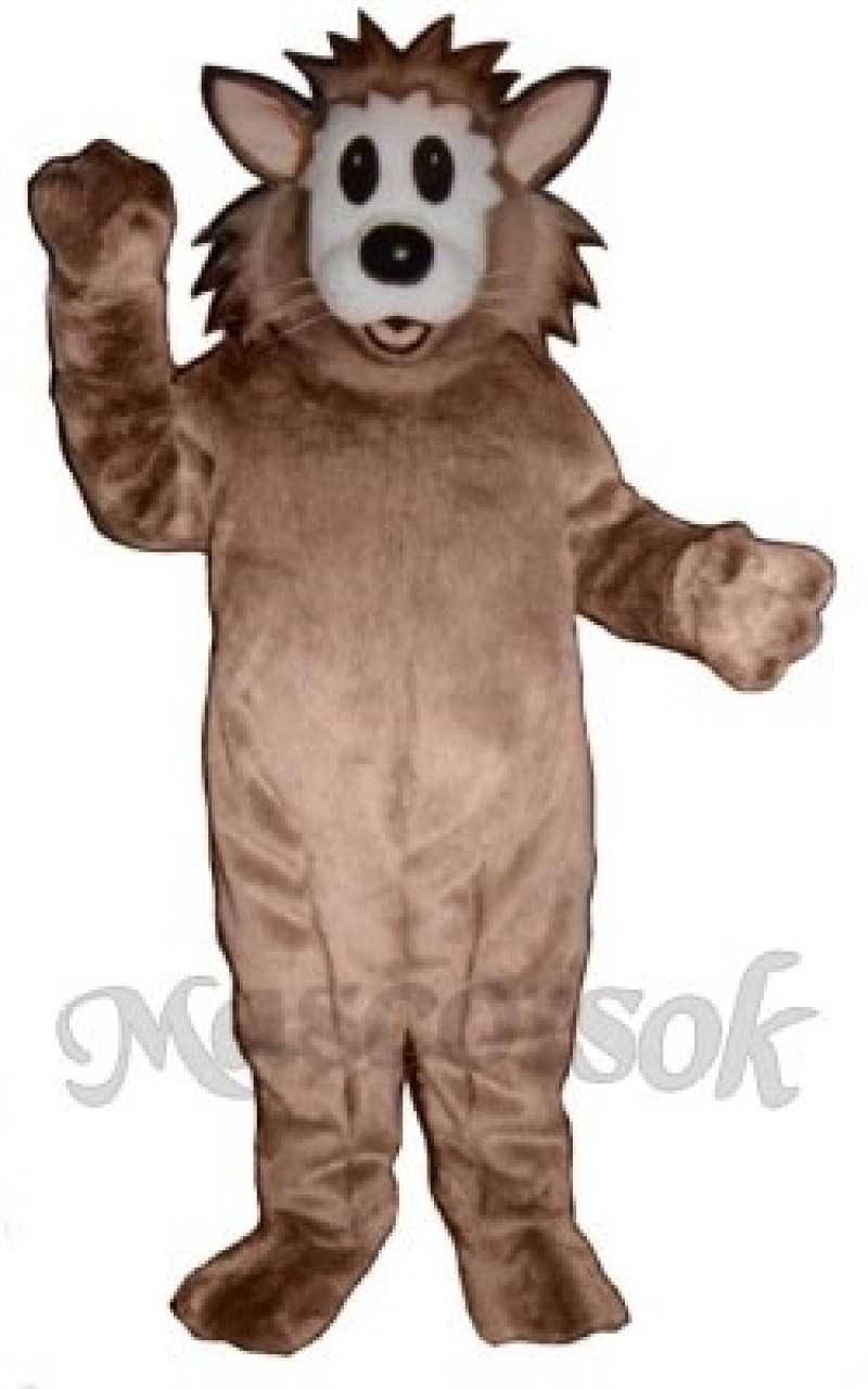 Cute Frantic Cat Mascot Costume