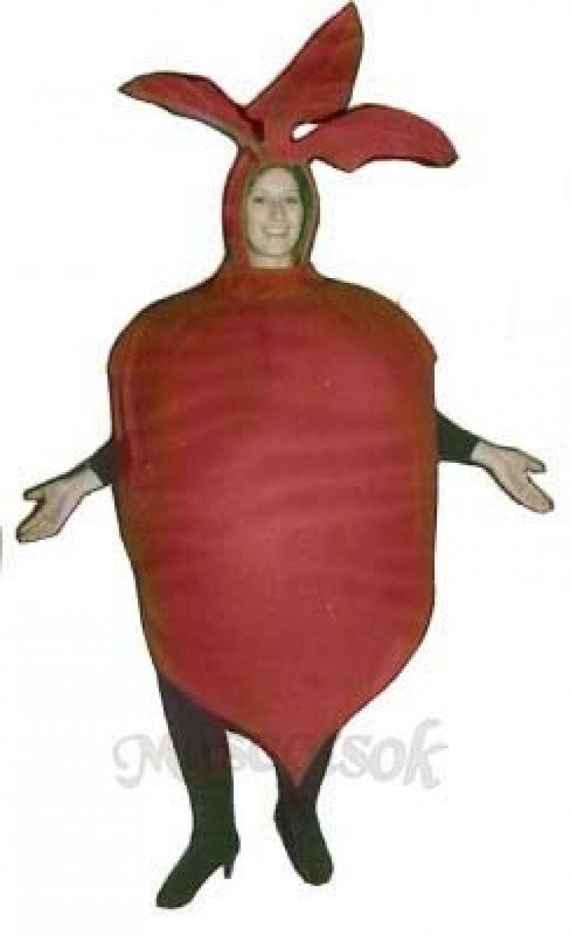 Beet Mascot Costume