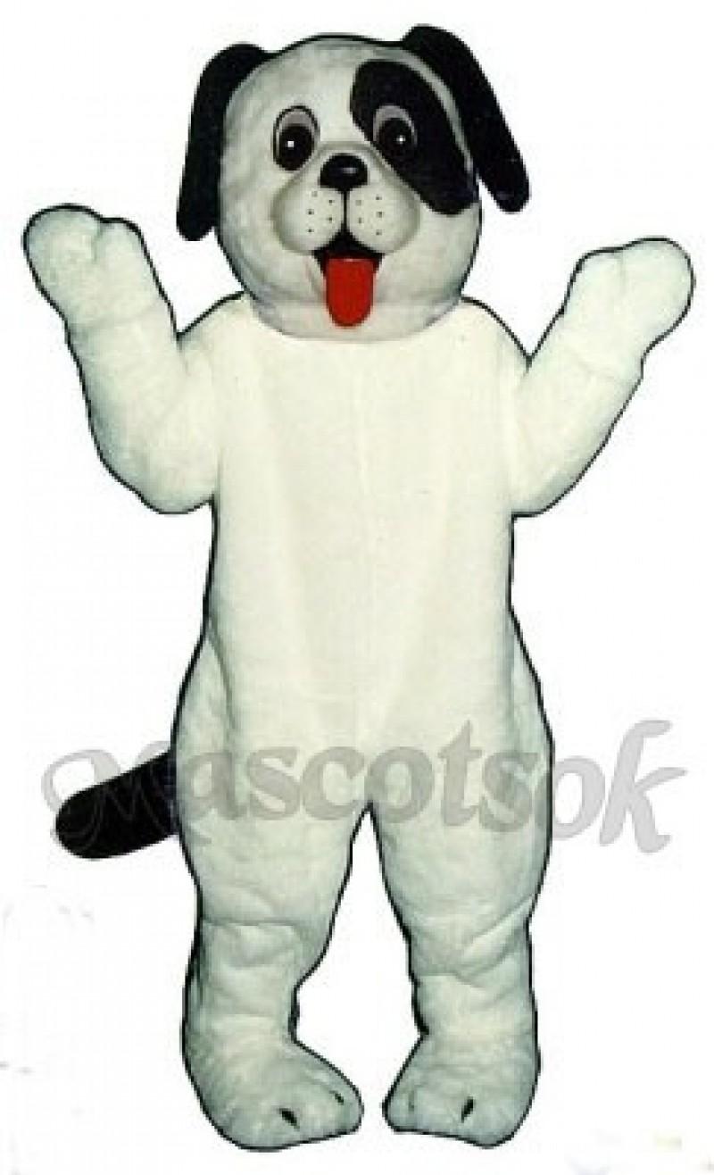 Cute White Puppy Dog Mascot Costume