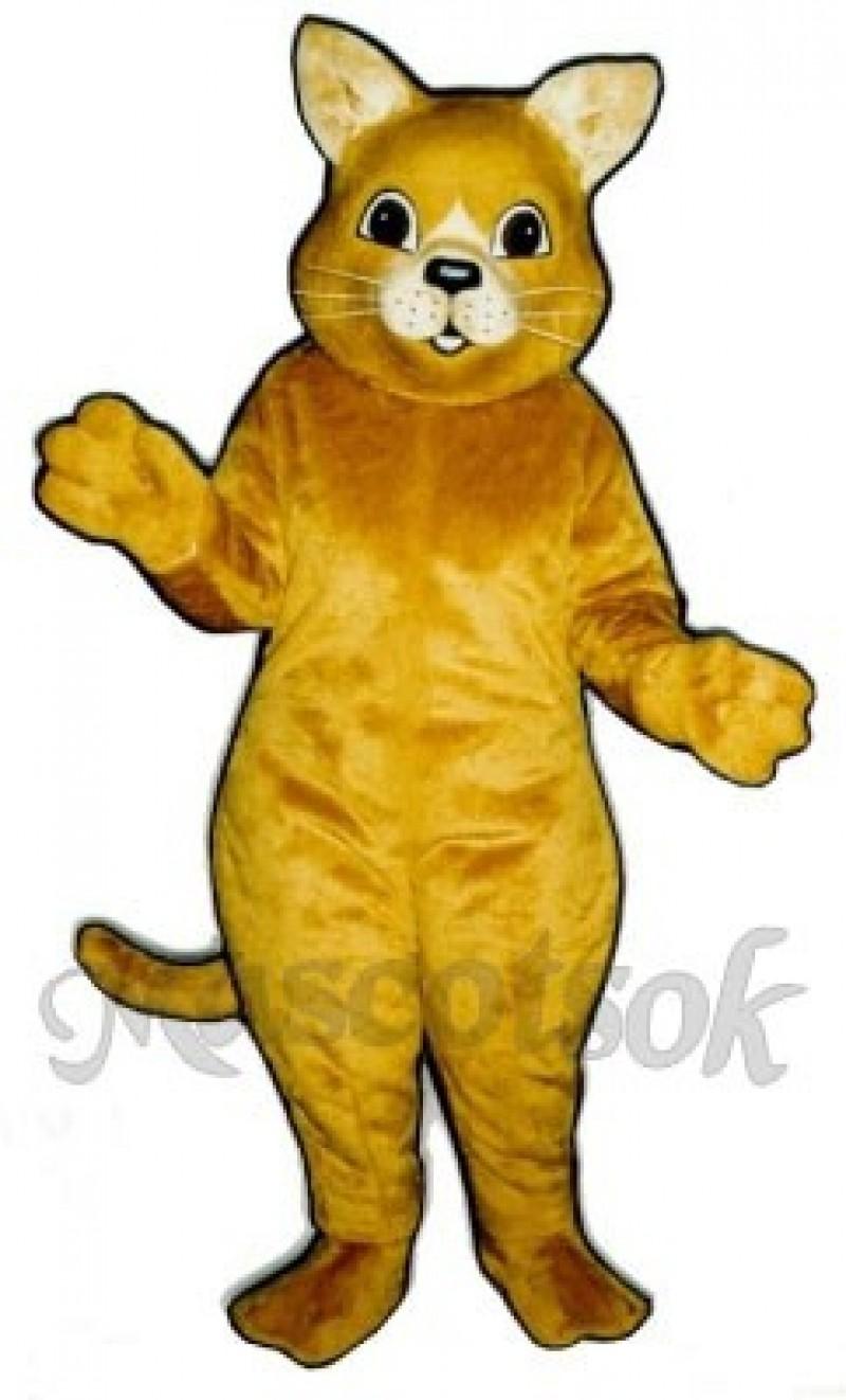 Cute Kitty Cat Mascot Costume