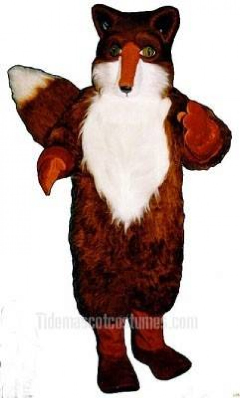 Cute Red Fox Mascot Costume