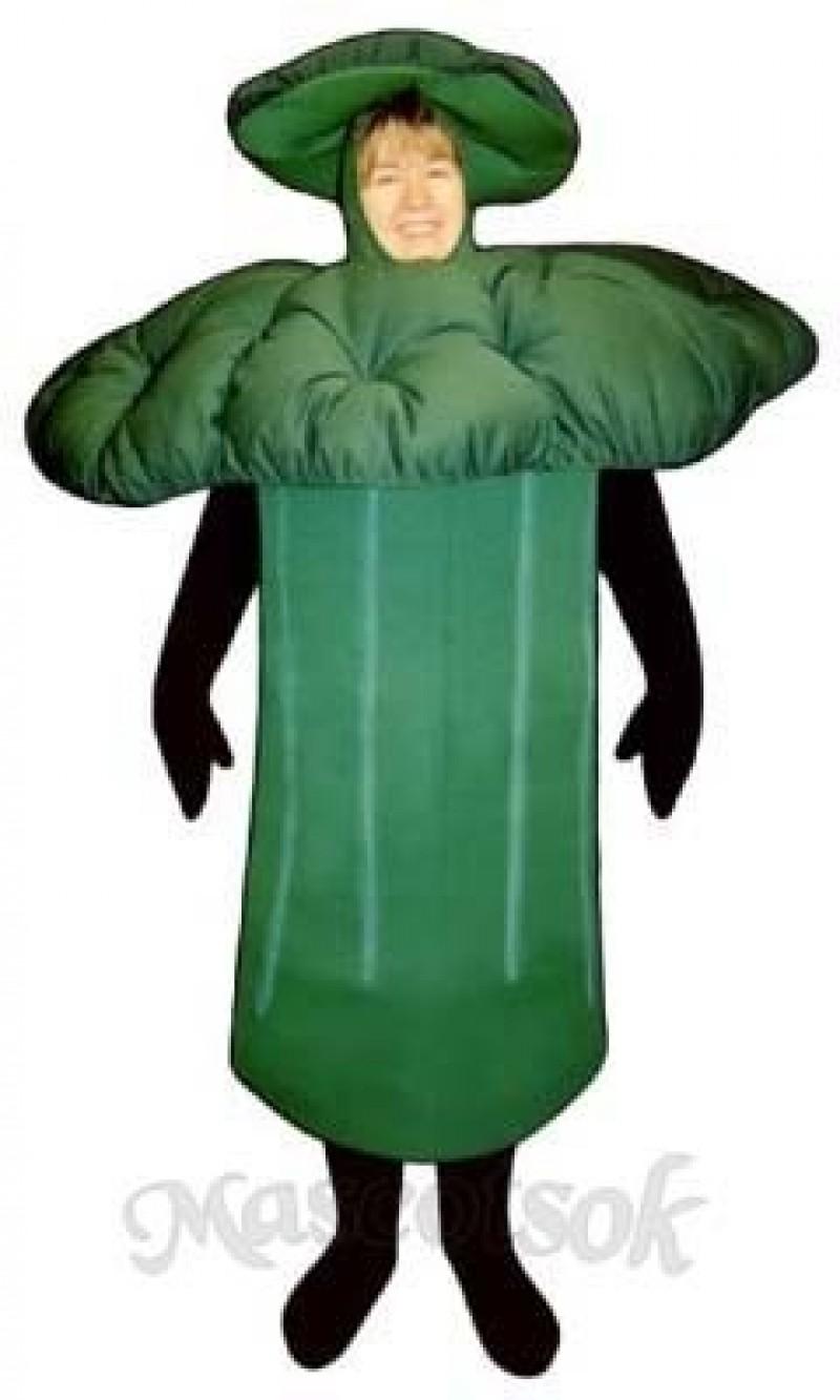 Broccoli Mascot Costume