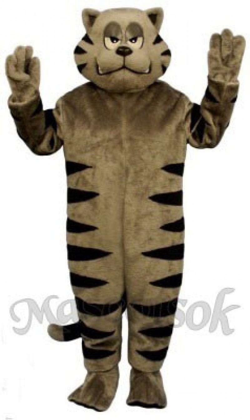 Cute Growly Alley Cat Mascot Costume