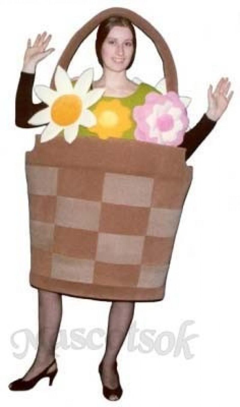 Basket of Flowers Mascot Costume